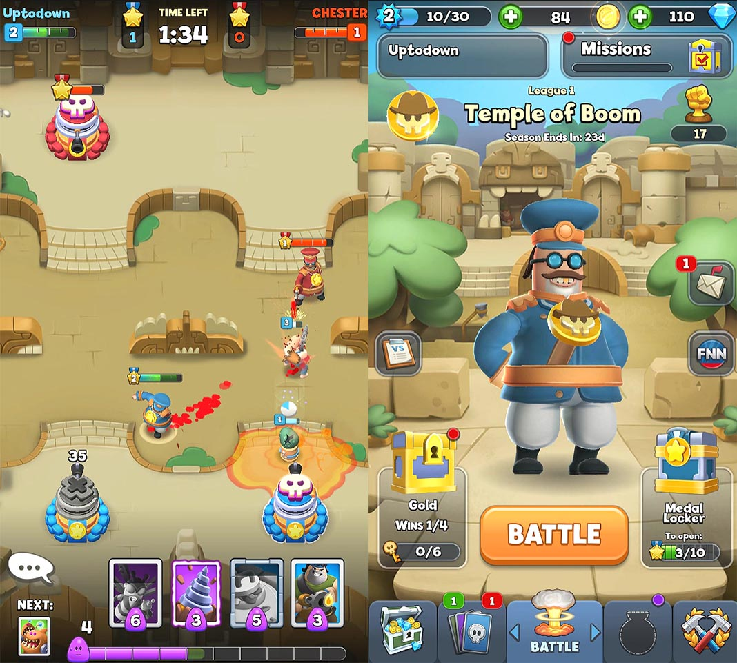 World War Doh hits Android with a new spin on Clash Royale's