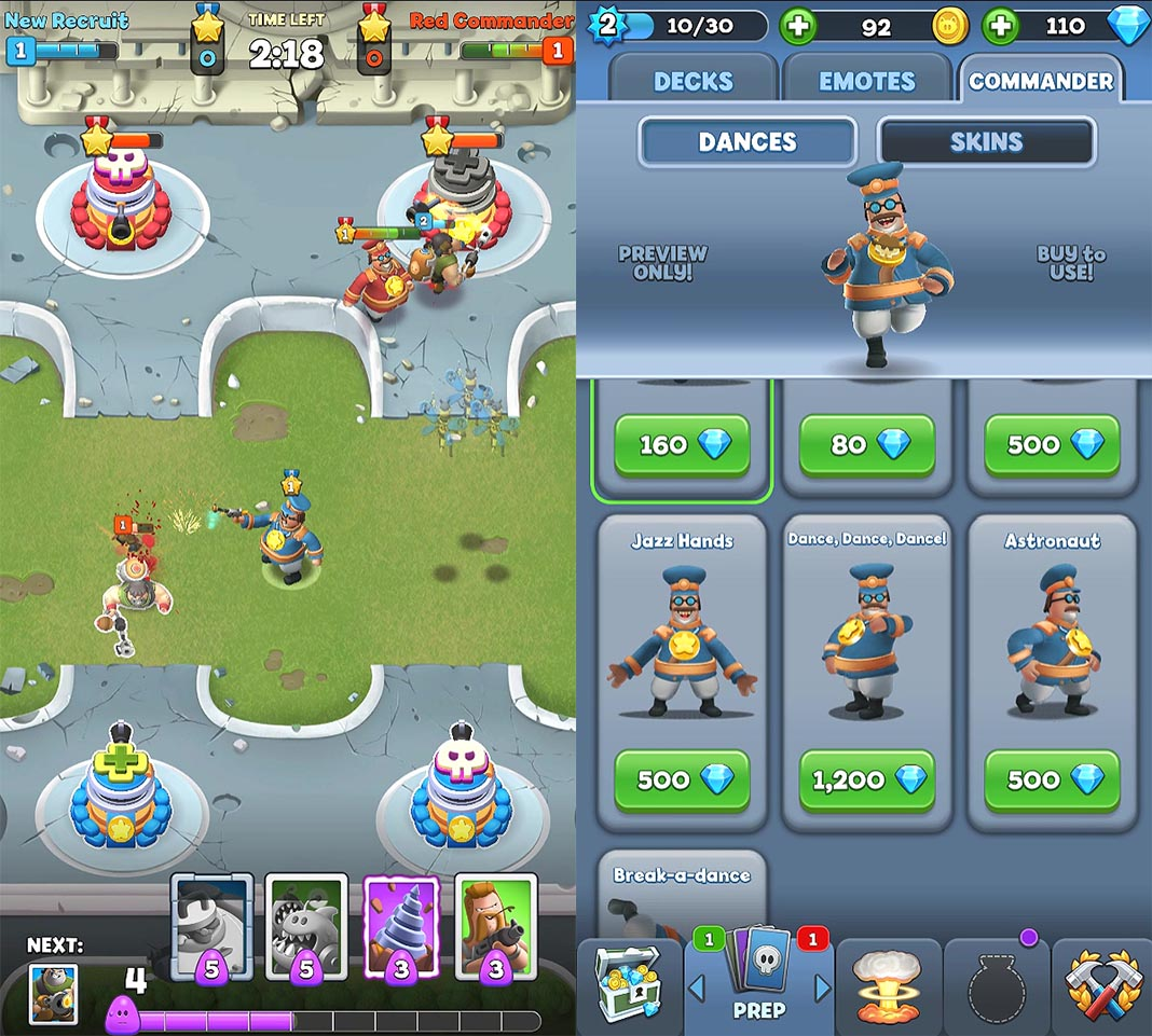world war doh en 2 World War Doh hits Android with a new spin on Clash Royale's gameplay