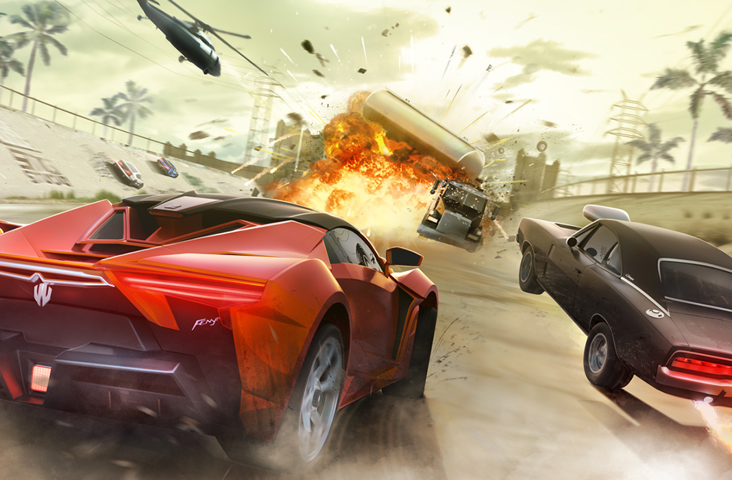 You can now play Fast & Furious: Takedown on Android