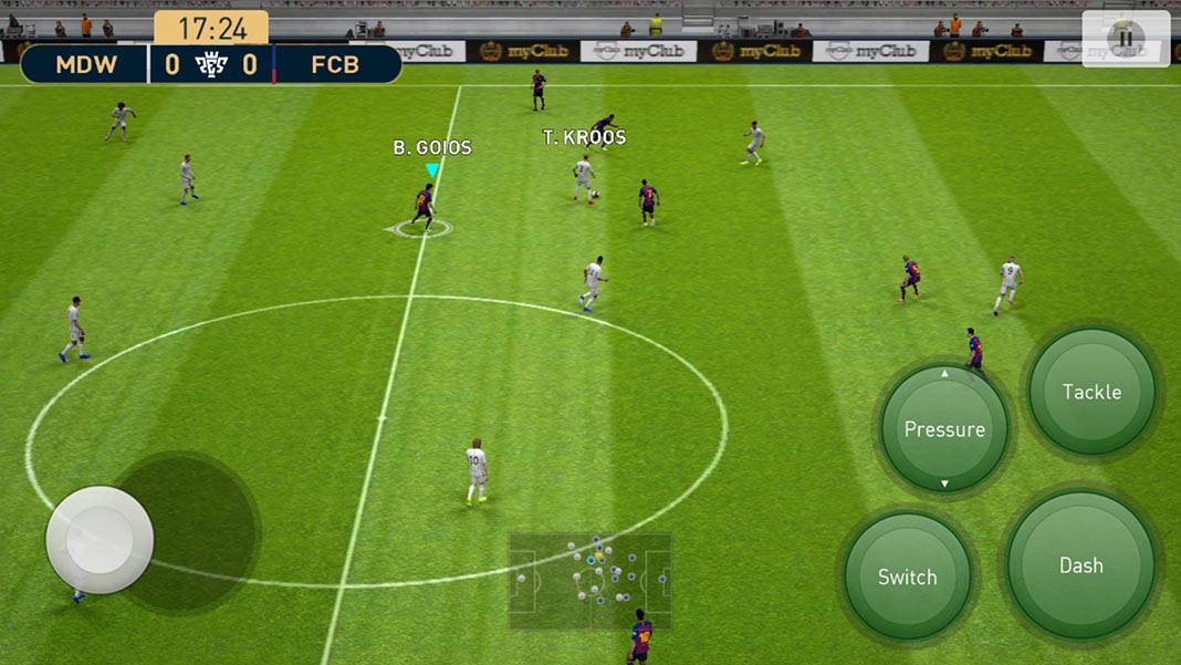 pes 2019 screenshot en 2 The new PES 2019 is now available on Android