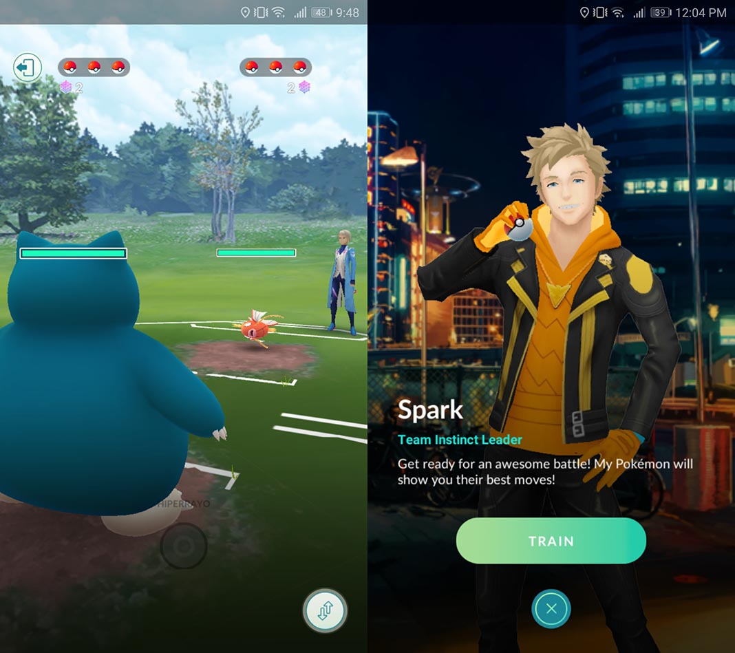 PvP combat is now available in Pokemon GO