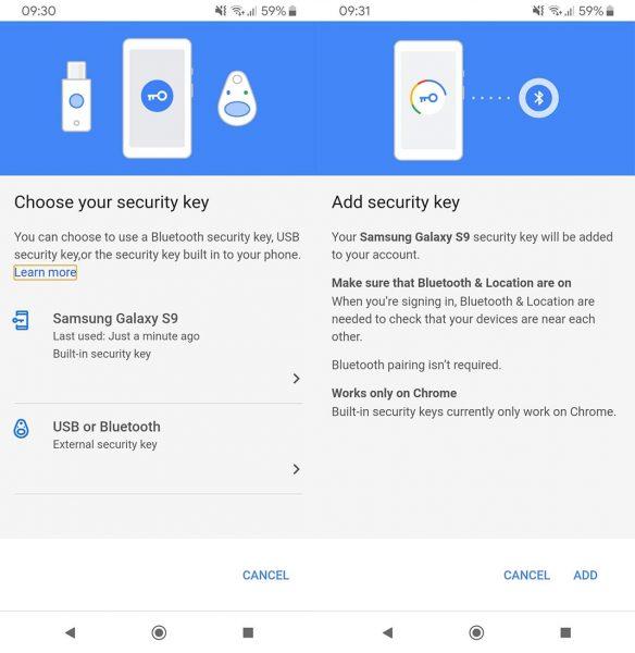 Google Security Key Tutorial
