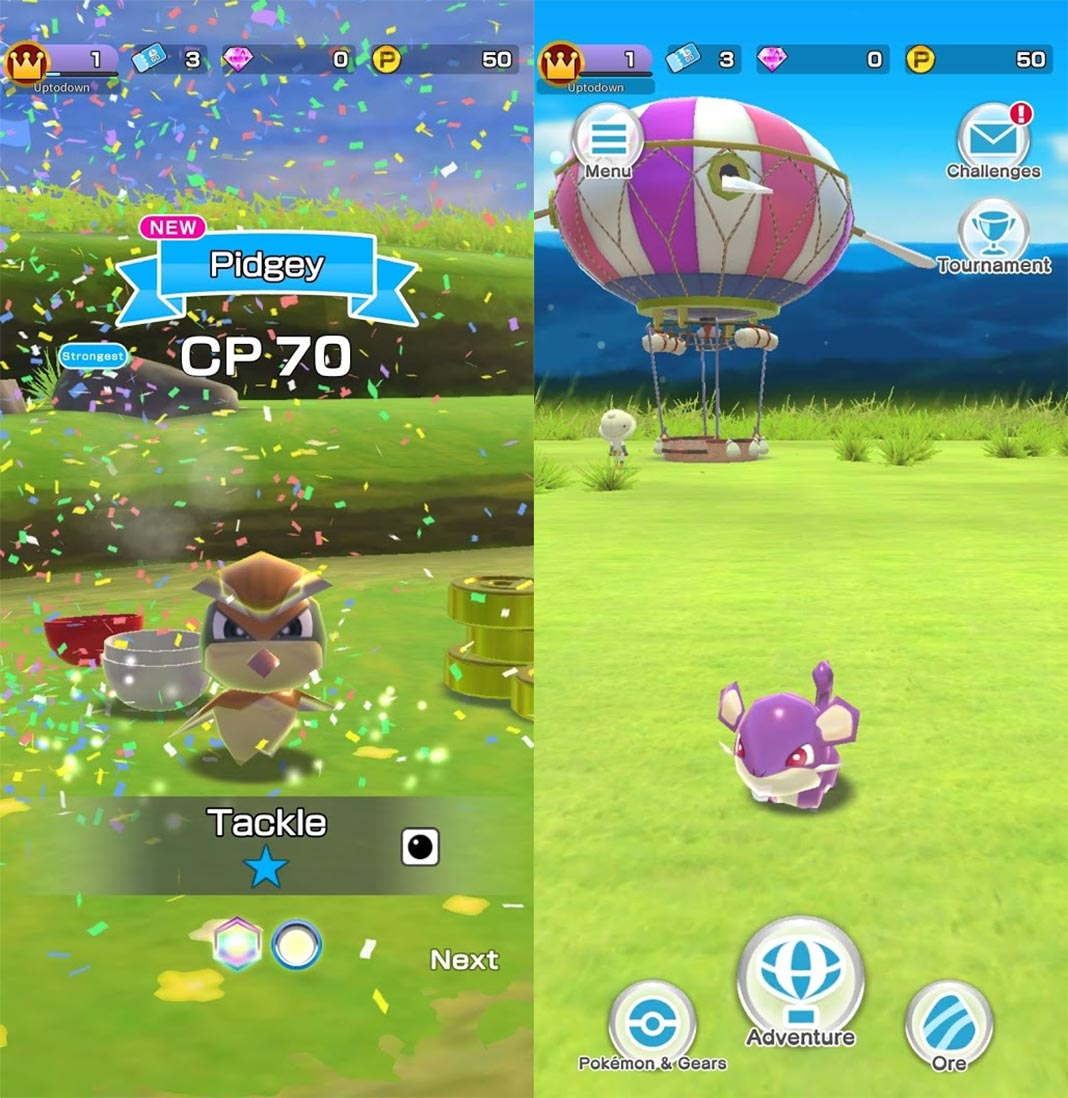 pokemon rumble rush en 2 Pokemon Rumble Rush is now available for Android
