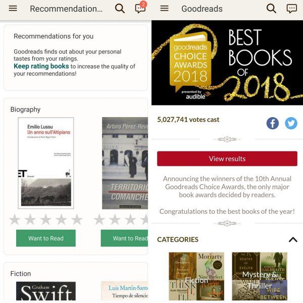 Aplicaciones para organizar libros GoodReads 3 Best apps to organize your books