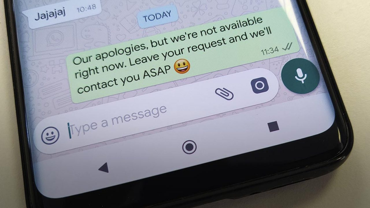 How To Set Up Automatic Replies In Whatsapp