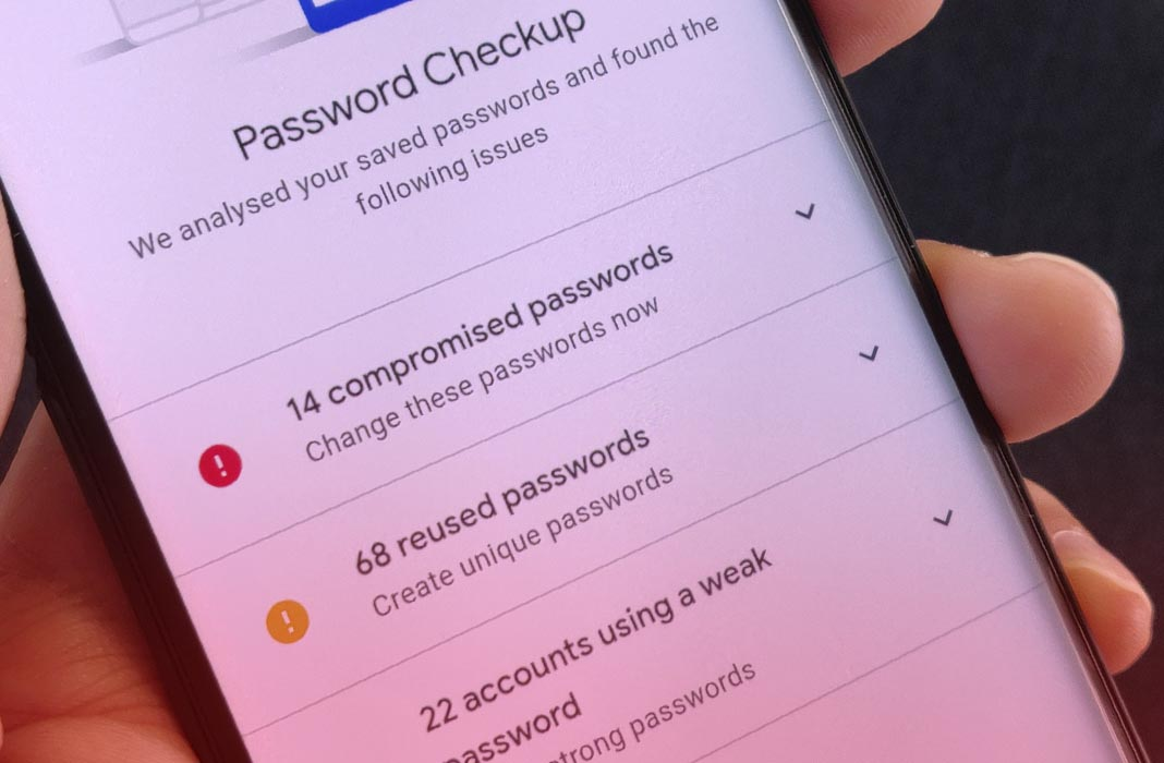 google password checkup featured Check if your passwords have been compromised
