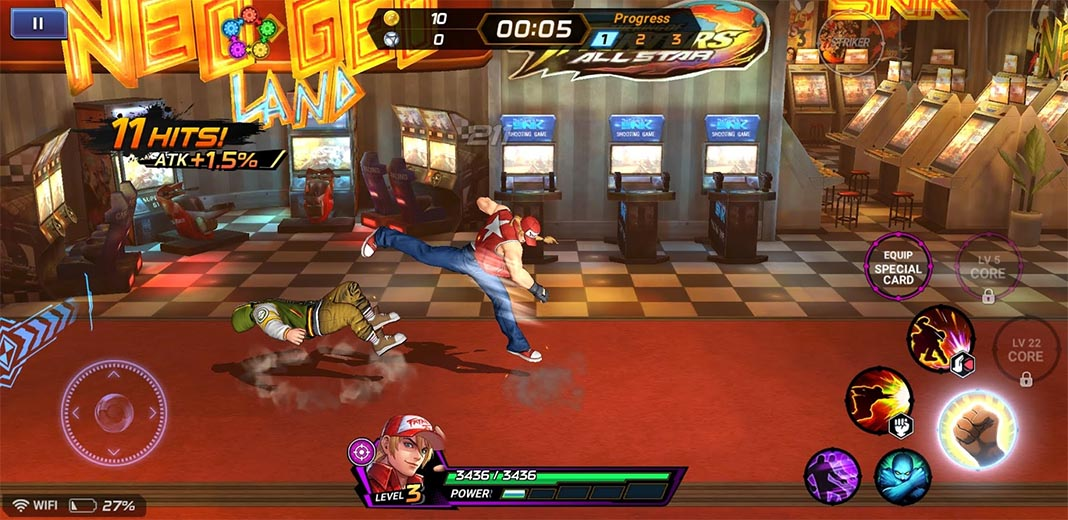 kof all stars 2 The global version of The King of Fighters AllStar is out now!