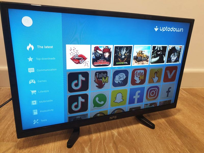Uptodown App SmartTV Android