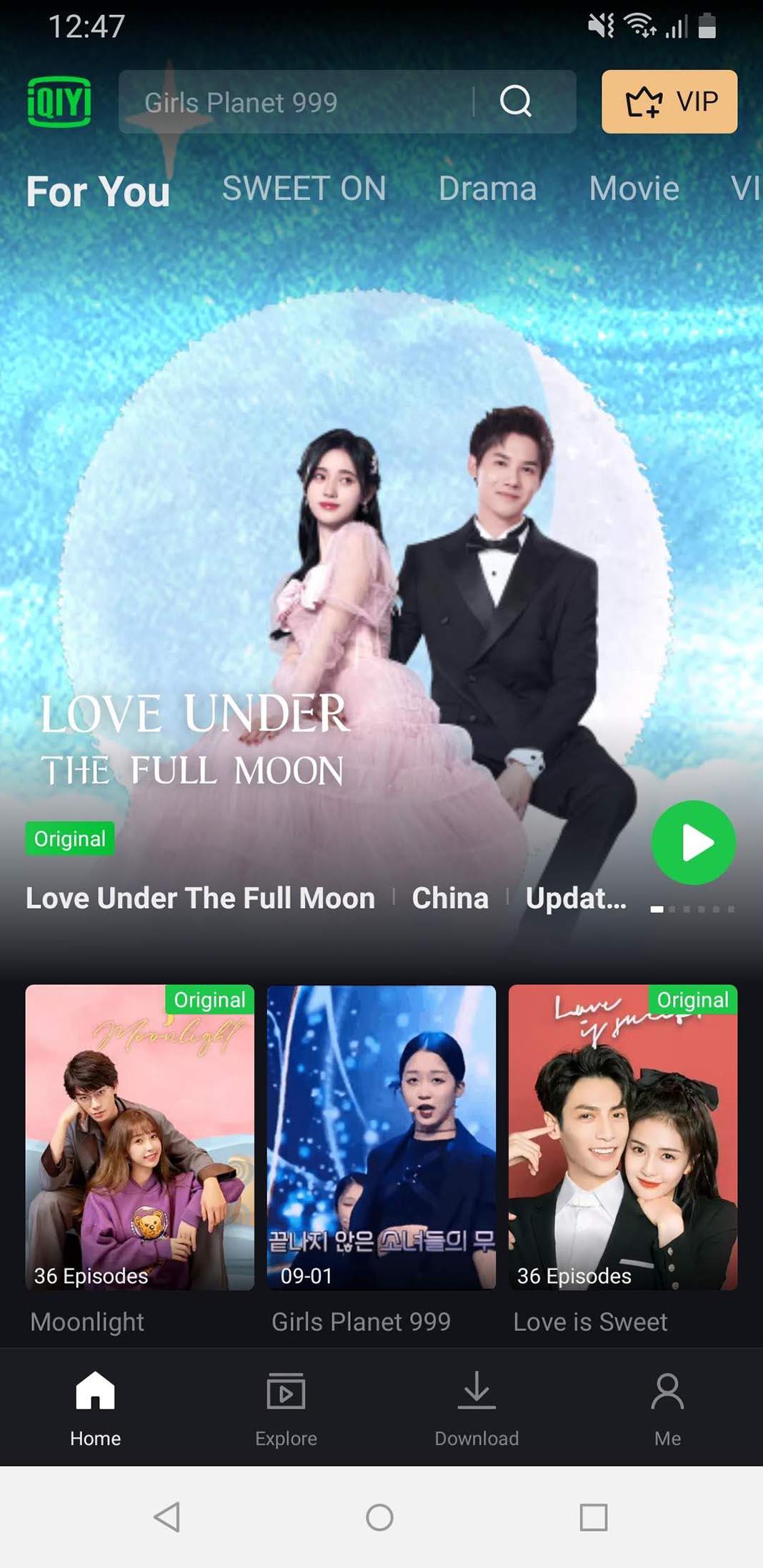 IQIYI screenshot homepage IQIYI: the Chinese Netflix that you can watch for free